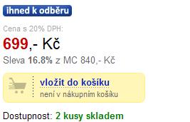 eva.cz - 24 hodin poté, co mi volali, že skladem nemají ani jeden kus